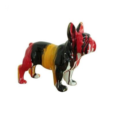 Serie ANIMALES XS | Boston Terrier multicolor