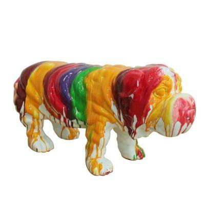 Perro multicolor | Serie Animales M