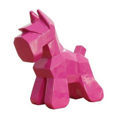 Schnauzer rosa | Serie Animales XS