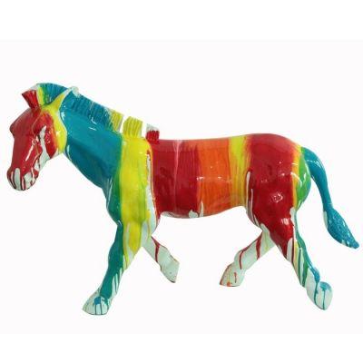 Caballo multicolor | Serie Animales L