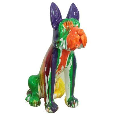 Boston Terrier multicolor | Serie Animales L
