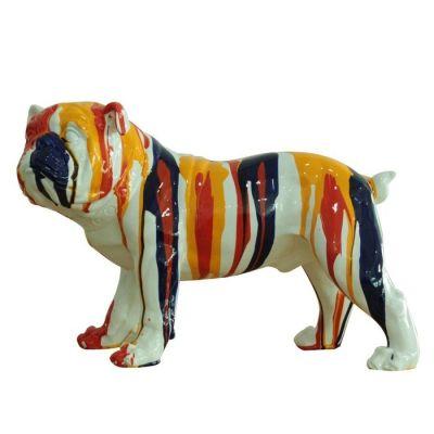 Bulldog multicolor | Serie Animales S
