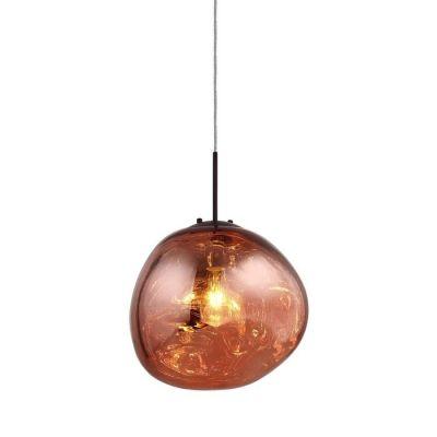 Lámpara colgante roja (Ø 36 x H 160) | Dotent