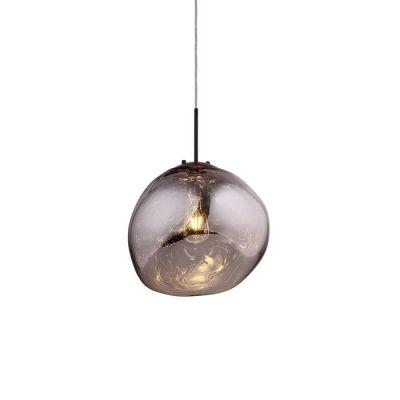 Lámpara colgante cromo (Ø 36 x H 160) | Dotent