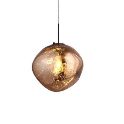 Lámpara colgante dorada (Ø 36 x H 160) | Dotent