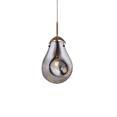 Lámpara colgante smoky (Ø 23 x H 160) | Panist
