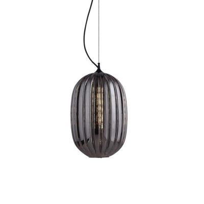 Lámpara colgante smoky (Ø 32 x H 160) | Tuline
