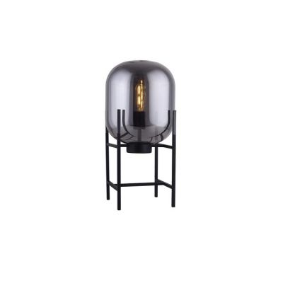 Lámpara de mesa smoky (Ø 27 x H 50) | Bharian