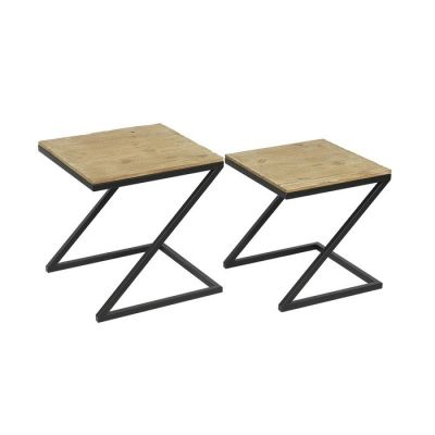 Set 2 mesas nido auxiliares Aphex | Serie Tex