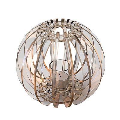 Portavela T-light Sfera | Transparente