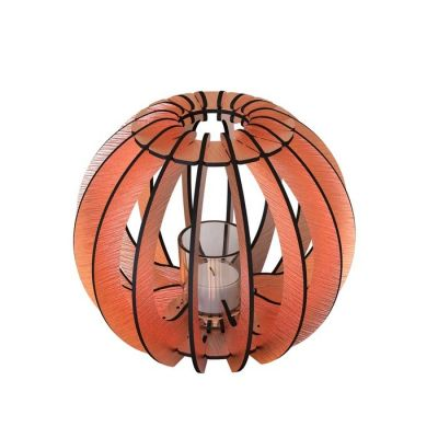 Portavela T-light Sfera | Cobre