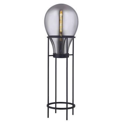 Lámpara de pie (Ø 50 x H 158) | Hatann Smoky