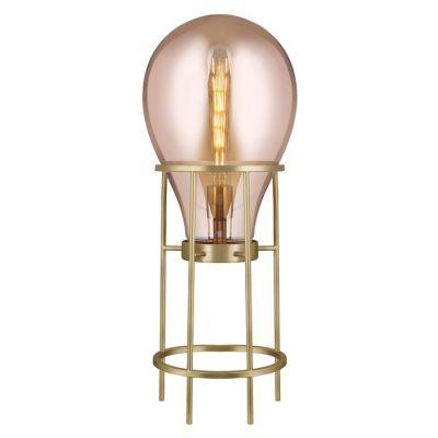 Lámpara de pie (Ø 40 x H 108) | Hatann Ámbar
