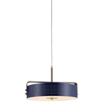 Lámpara colgante Ø 40 | Mohica Azul