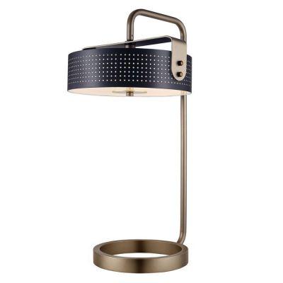 Lámpara de mesa (Ø36 x H 60) | Mohica Negro