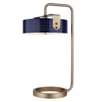 Lámpara de mesa (Ø36 x H 60) | Mohica Azul