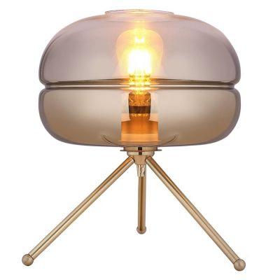 Lámpara de mesa (Ø29 x H 35) | Dabache Oro
