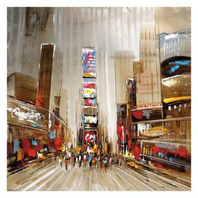 Cuadro paisaje urbano (100 x 100 cm) | Serie Urbano