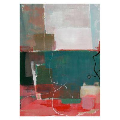 Cuadro abstracto multicolor I (50 x 70 cm) | Serie Abstracto