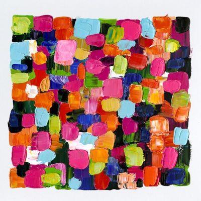 Cuadro abstracto color cuadros II (100 x 100 cm)   Serie Abstracto