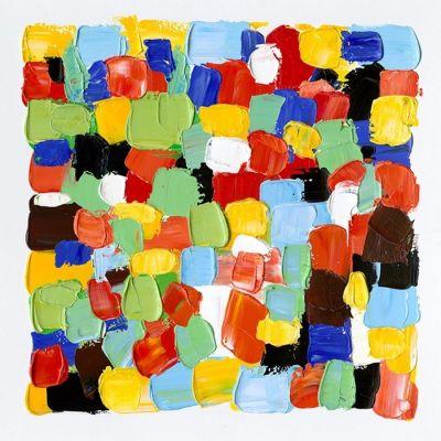 Cuadro abstracto color cuadros I (100 x 100 cm)   Serie Abstracto