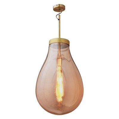 Lámpara colgante Ø 50 | Hatann Ámbar