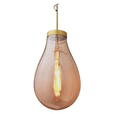 Lámpara colgante Ø 40 | Hatann Ámbar