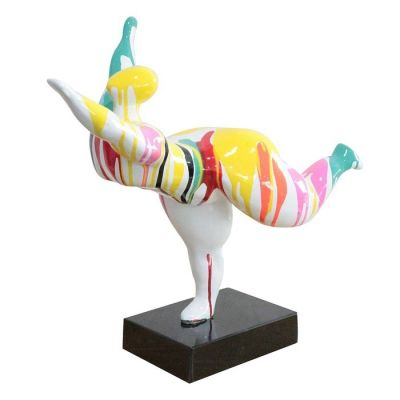 Figura femenina Tessa multicolor | Serie Figuras Femeninas S